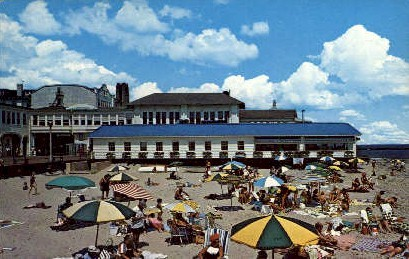 Homestead Restaurant - Ocean City, New Jersey NJ Postcard