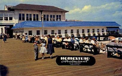 Homestead Restaurant - Ocean Grove, New Jersey NJ Postcard