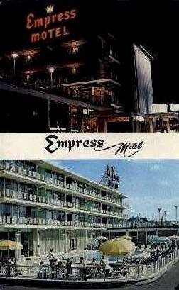 Empress Motel - Asbury Park, New Jersey NJ Postcard