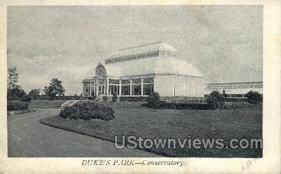 Dukes Park, Conservatory - Misc, New Jersey NJ Postcard