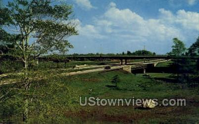 Garden State Parkway - Misc, New Jersey NJ Postcard