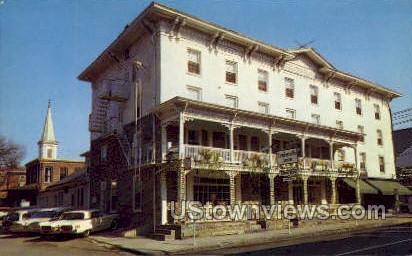 Lambertville House - New Jersey NJ Postcard