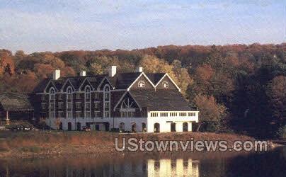 The Inn at Lambertville Station - New Jersey NJ Postcard
