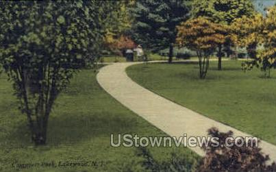 Campbell Park - Lakewood, New Jersey NJ Postcard