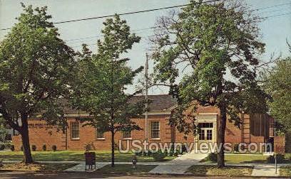 US Post Office - Bridgeton, New Jersey NJ Postcard
