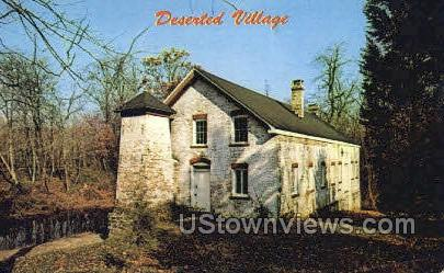 Allaire Village, New Jersey, NJ, Postcard