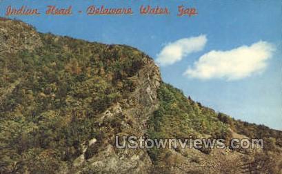Indian Head - Delaware Water Gap, New Jersey NJ Postcard
