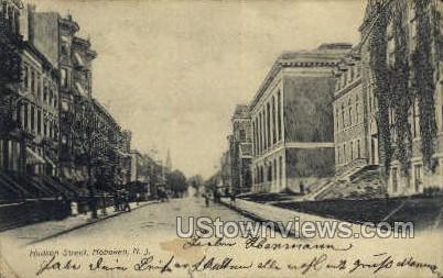 Hudson Street - Hoboken, New Jersey NJ Postcard