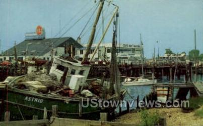 Schellenger's Landing - Cape May, New Jersey NJ Postcard
