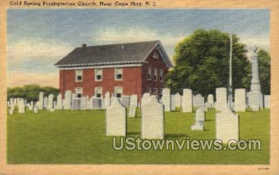 Cold Spring Presbyterian Church - Cape May, New Jersey NJ Postcard