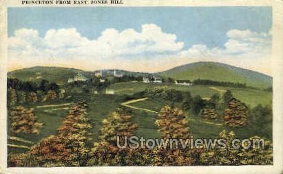 East Jones Hill - Princeton, New Jersey NJ Postcard