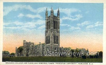 Princeton University - New Jersey NJ Postcard