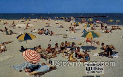 The Allaire - Spring Lake Beach, New Jersey NJ Postcard