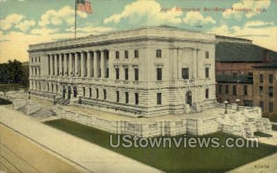 New Municipal Bldg - Trenton, New Jersey NJ Postcard