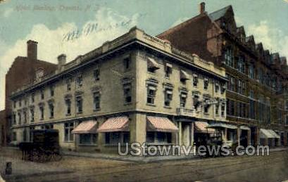 Hotel Sterling - Trenton, New Jersey NJ Postcard