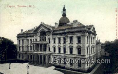 Capitol - Trenton, New Jersey NJ Postcard