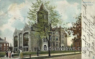 Trenton High School - New Jersey NJ Postcard