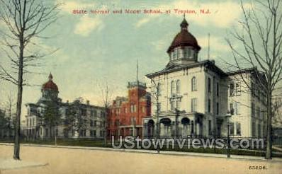 State Normal & Model School - Trenton, New Jersey NJ Postcard