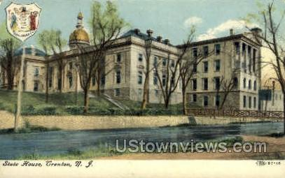 State House - Trenton, New Jersey NJ Postcard