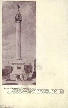 Battle Monument - Trenton, New Jersey NJ Postcard