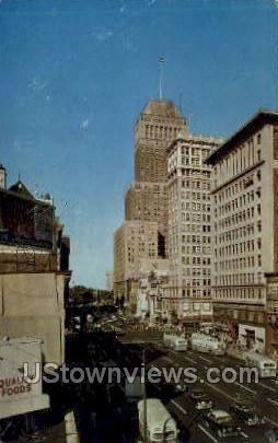 Broad & Market Streets - Essex County, New Jersey NJ Postcard