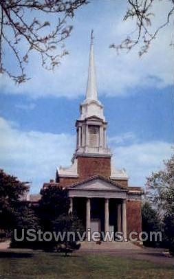 Elizabeth Rodman Voorhees Chapel - New Brunswick, New Jersey NJ Postcard