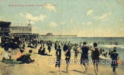 Ross Bthing Grounds - Ocean Grove, New Jersey NJ Postcard