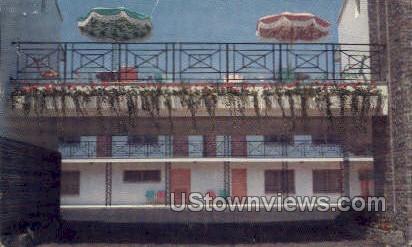 Ocean Grove Motor Inn - New Jersey NJ Postcard