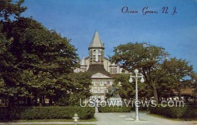 The Auditorium - Ocean Grove, New Jersey NJ Postcard