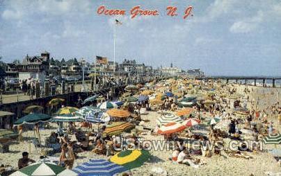 Ocean Grove, New Jersey, NJ, Postcard