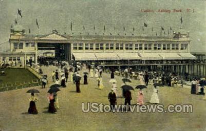 Casino - Asbury Park, New Jersey NJ Postcard