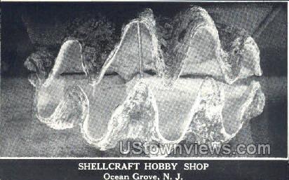Shellcraft Hobby Shop - Ocean Grove, New Jersey NJ Postcard