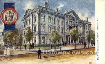 New Jersey State Capitol - Trenton Postcard
