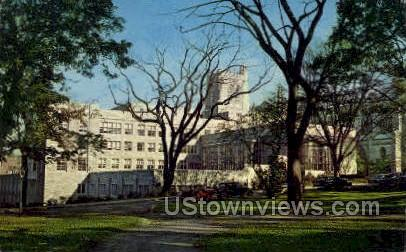 Harvey S. Firestone Memorial Library - Princeton, New Jersey NJ Postcard