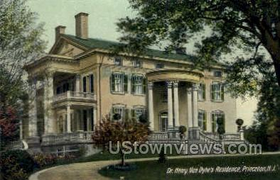 Dr. Henry Van Dyke's Residence - Princeton, New Jersey NJ Postcard