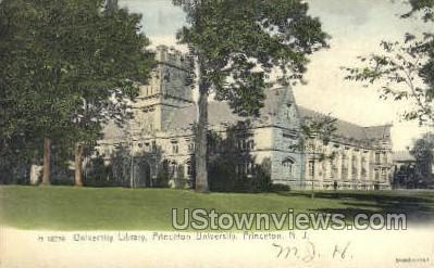 University Library, Princeton University - New Jersey NJ Postcard