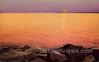 Point Lighthouse - Cape May, New Jersey NJ Postcard
