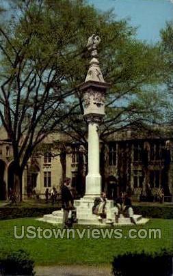 Mather Sun Dial, Princeton University - New Jersey NJ Postcard