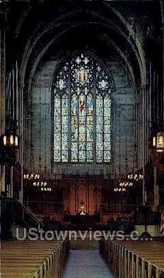 Princeton University Chapel - New Jersey NJ Postcard