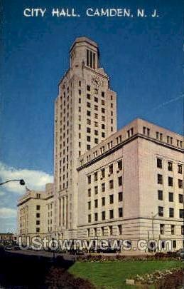 City Hall - Camden, New Jersey NJ Postcard