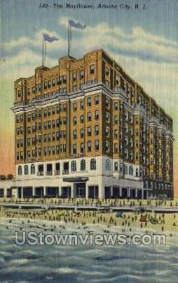 The Mayflower - Atlantic City, New Jersey NJ Postcard
