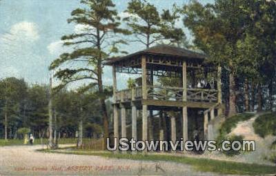 Crow's Nest - Asbury Park, New Jersey NJ Postcard