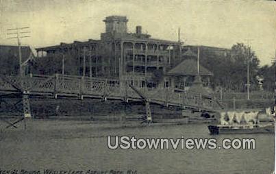 Wesley Lake - Asbury Park, New Jersey NJ Postcard
