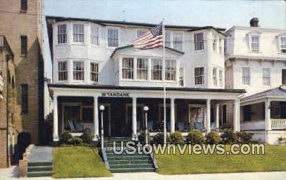Hotel Wyandank - Asbury Park, New Jersey NJ Postcard