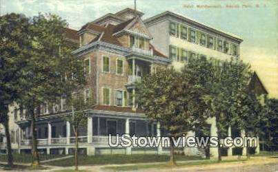 Hotel Marlborough - Asbury Park, New Jersey NJ Postcard