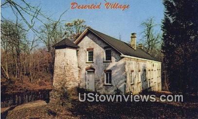 Allaire Village, NJ     ;     Allaire Village, New Jersey Postcard