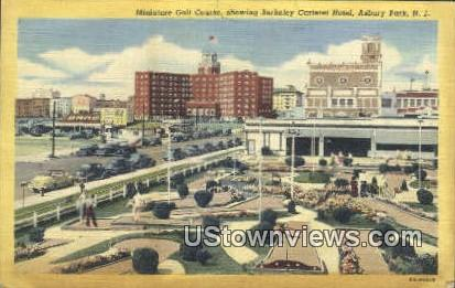 Berkeley Carteret Hotel - Asbury Park, New Jersey NJ Postcard