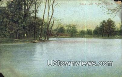 Tier's Lake - Plainfield, New Jersey NJ Postcard