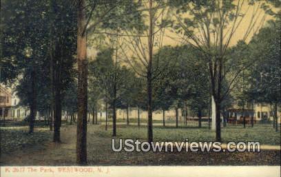 The Park - Westwood, New Jersey NJ Postcard