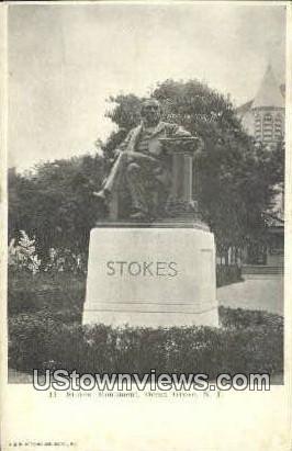 Stokes' Monument - Ocean Grove, New Jersey NJ Postcard